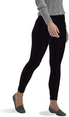 Hue Women's Plus Velvet High Rise Leggings