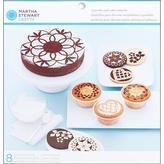 Martha Stewart Doily Lace Cake & Cupcake Stencils 8/pkg