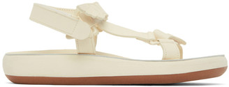 Ancient Greek Sandals Off-White Poria Sandals