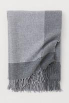 H&M Wool Throw - Gray
