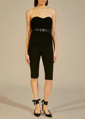 KHAITE The Jane Legging in Black