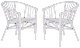 Safavieh Couture Adriana Rattan Accent Chair