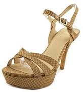 Vince Camuto Peppa Women Open Toe Leather Platform Heel.
