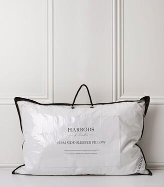 Harrods 90% Goose Down Side Sleeper Pillow (Firm)