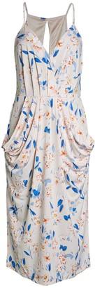 BCBGeneration Drape Pocket Cocktail Dress