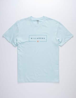 Billabong Union Light Blue Mens T-Shirt