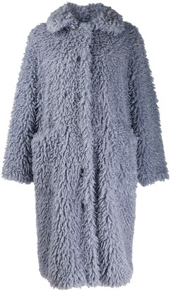 Stand Studio Leah shearling coat