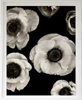 Dawn Wolfe Design Dawn Wolfe - Anemones on Black Art