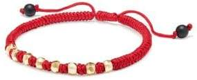 David Yurman Fortune Red Woven Bracelet