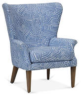 Robin Bruce Emilia Wingback Chair - Royal Blue