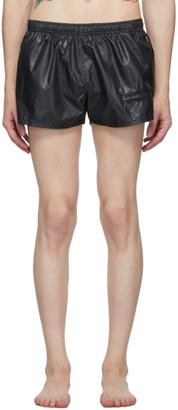 Enfants Riches Deprimes Black Logo Swim Shorts