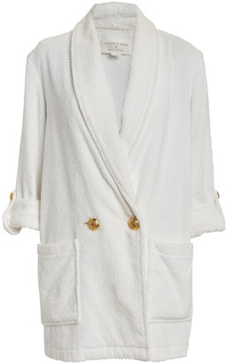 Veronica Beard Goldie Double-Breasted Cover-Up