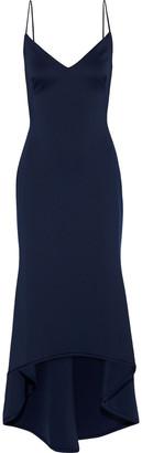Black Halo Eve By Laurel Berman Armelle Asymmetric Neoprene Gown