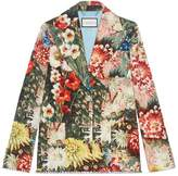 Gucci Impressionist Garden jacket with crystals