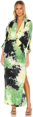 S/W/F SWF Tie Dye Maxi Dress