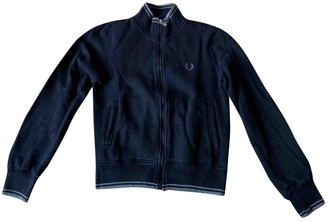 Fred Perry Blue Cotton Knitwear for Women