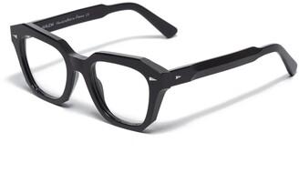 AHLEM Pont Des Arts Optic Raw 8mm Black Glasses