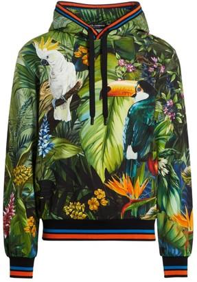Dolce & Gabbana Tropical Graphic Hoodie