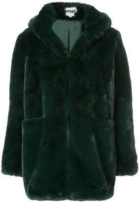 Apparis Marie hooded faux-fur coat
