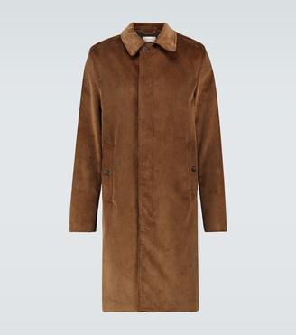 Caruso Corduroy overcoat
