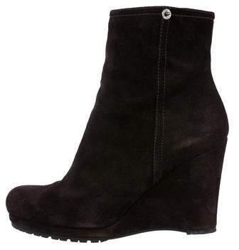 de4e46859cb Sport Suede Wedge Ankle Boots