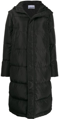 Ganni Oversized Padded Coat
