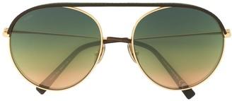 Tod's Shaded Aviator Sunglasses
