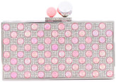 Sophia Webster 'Clara' polka dot crystal box bag - women - Metal (Other)/PVC - One Size