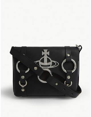 Vivienne Westwood Betty Orb mini leather satchel