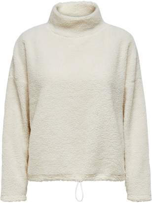 Only Faux Fur Teddy Sweater