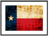 Texas by WWS Photography Collection (Framed Giclee)