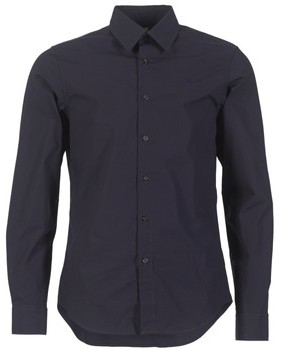 G Star CORE SHIRT men's Long sleeved Shirt in Blue