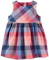Osh Kosh Baby Girl Plaid Dress
