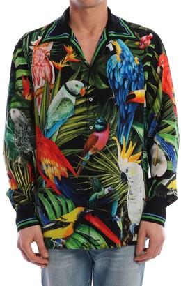 Dolce & Gabbana Hawaii Silk Shirt