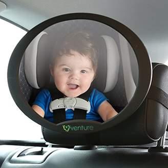 Venture ActiVue Baby Car Mirror, Rear View Baby seat Mirror