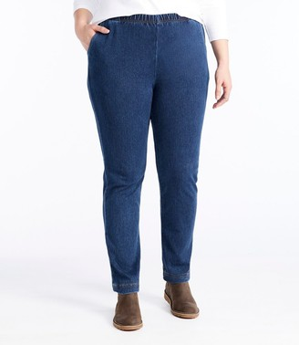 L.L. Bean Women's Perfect Fit Pants, Original Denim