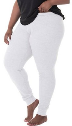 Fruit of the Loom Fit for Me by Women's and Women's Plus Size Waffle Thermal Underwear Pant