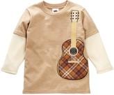 Mulberribush Guitar Embroidery Twofer Tee (Little Boys)