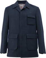 Thom Browne classic fitted coat
