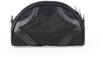 Prada Tessuto Bowling Crossbody Bag
