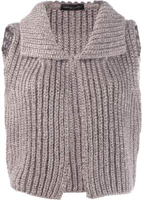 Fabiana Filippi knitted sleeveless cardigan
