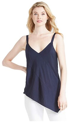 Nic+Zoe Go with The Flow Tank (Dark Indigo) Women's Clothing