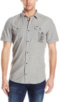 Buffalo David Bitton Men's Sixtem Short Sleeve Woven Shirt