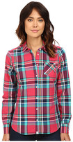 U.S. Polo Assn. Casual Cotton Poplin Plaid Shirt