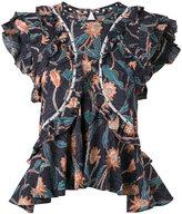 Isabel Marant Unice ruffled blouse