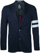 GUILD PRIME striped sleeve blazer - men - Cotton - 1