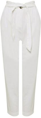 M&Co Petite linen trousers