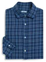Isaia Textured Regular-Fit Dress Shirt