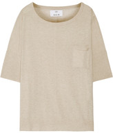 Allude Cotton And Cashmere-blend Sweater - Beige