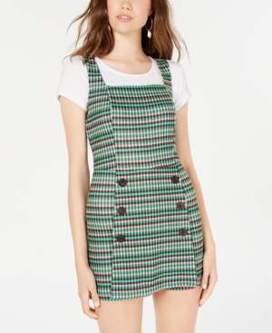 Fishbowl Juniors' Plaid Skort Dress